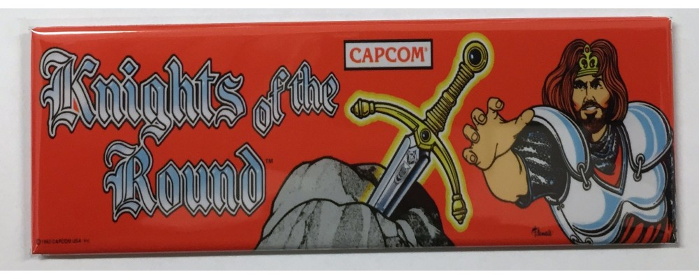 Knights of the Round - Marquee - Magnet - Capcom