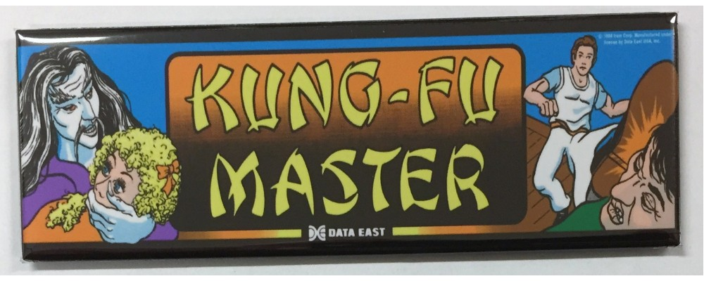 Kung Fu Master - Marquee - Magnet - Data East