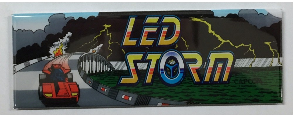Led Storm - Marquee - Magnet - Capcom