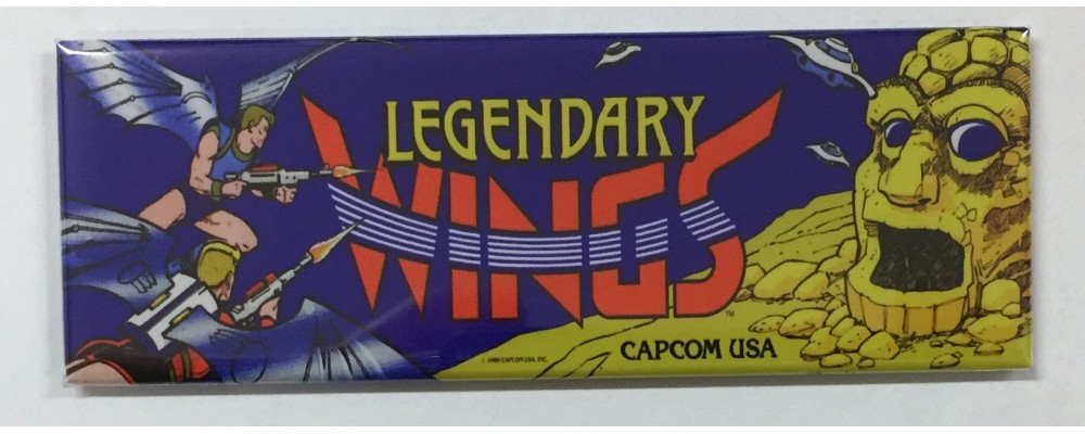 Legendary Wings - Marquee - Magnet - Capcom