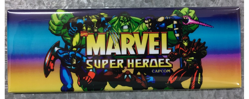 Marvel Super Heroes - Marquee - Magnet - Capcom