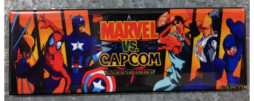 Marvel Vs Capcom - Marquee - Magnet - Capcom