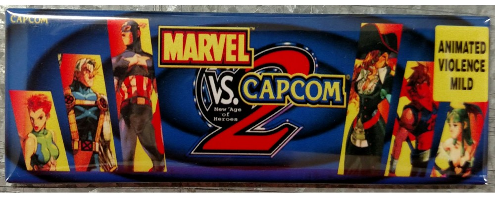 Marvel vs Capcom 2 - Arcade/Pinball - Magnet - Capcom