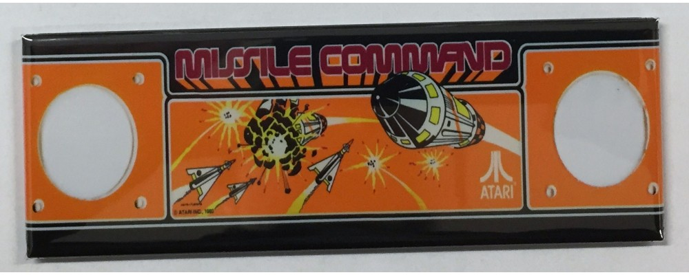 Missile Command - Marquee - Magnet - Atari