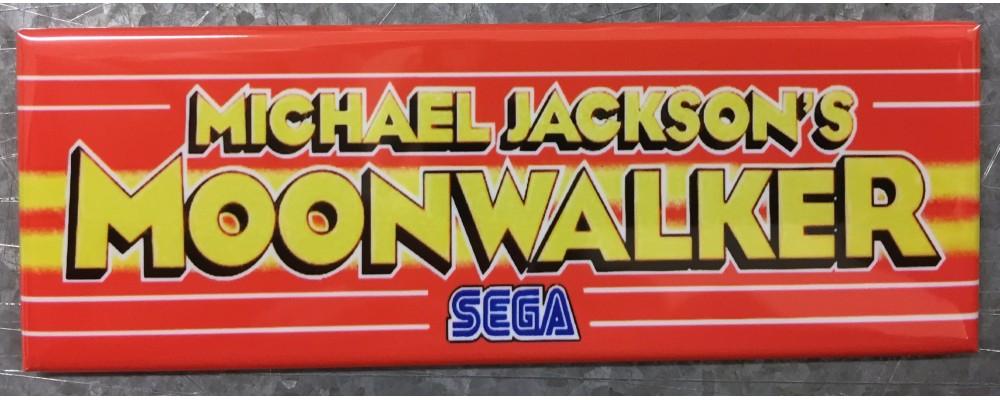 Michael Jackson's Moonwalker - Marquee - Magnet - Sega