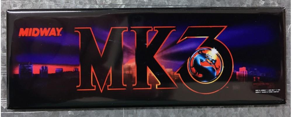 Mortal Kombat III - Marquee - Magnet - Midway