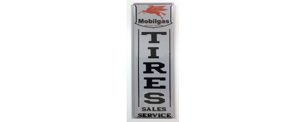 Mobilgas Tires - Advertising - Magnet