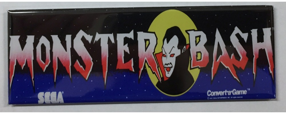 Monster Bash - Marquee - Magnet - Sega