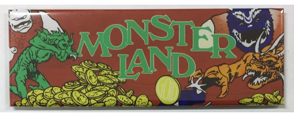 Monster Land - Marquee - Magnet - Sega