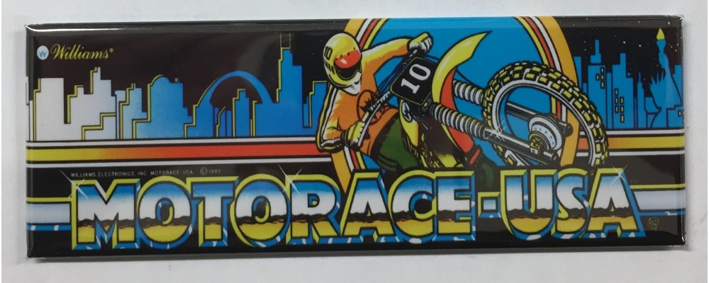 Motorace USA - Marquee - Magnet - Williams