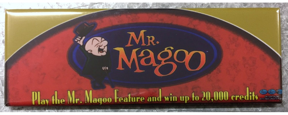 Mr. Magoo - Slot Machine - Magnet