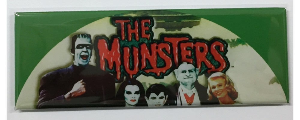The Munsters - Slot Machine - Magnet