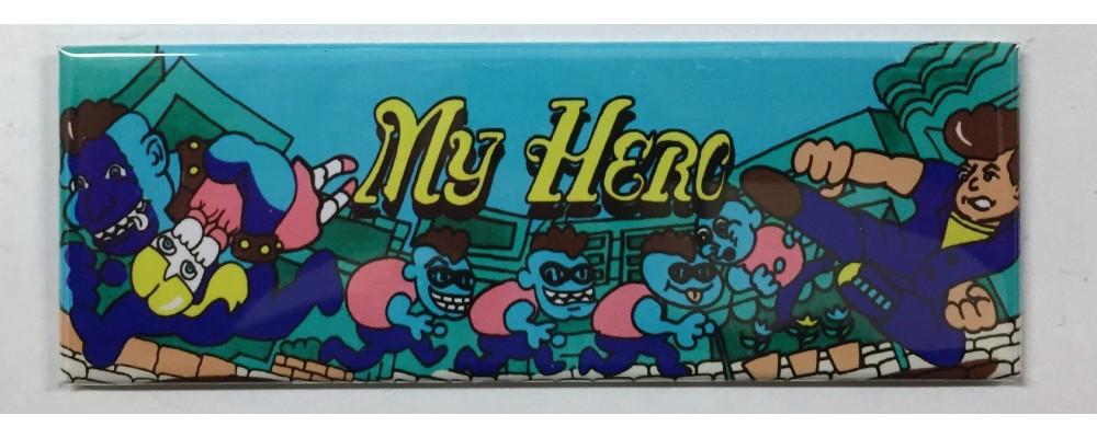 My Hero - Marquee - Magnet - Sega