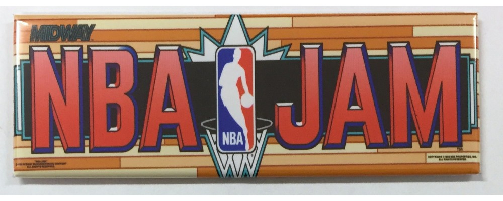 NBA Jam - Marquee - Magnet - Midway
