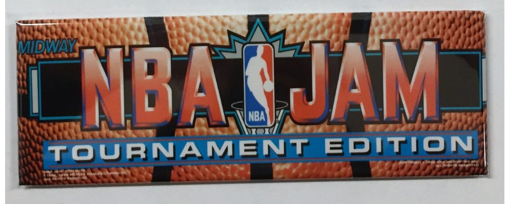 NBA Jam Tournament Edition - Marquee - Magnet - Midway