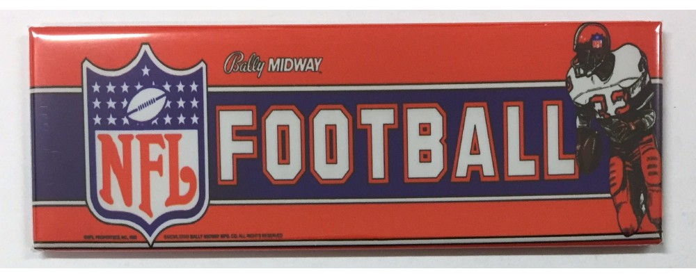NFL Football - Marquee - Magnet - Midway