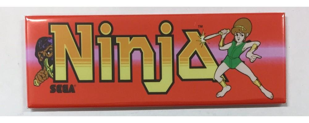 Ninja - Marquee - Magnet - Sega
