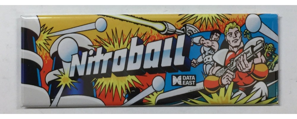 Nitroball - Marquee - Magnet - Data East
