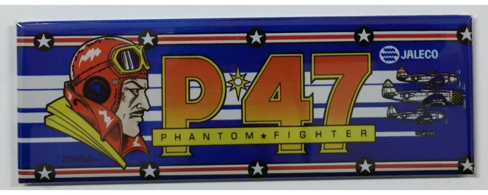 P 47 - Arcade Marquee - Magnet - Jaleco