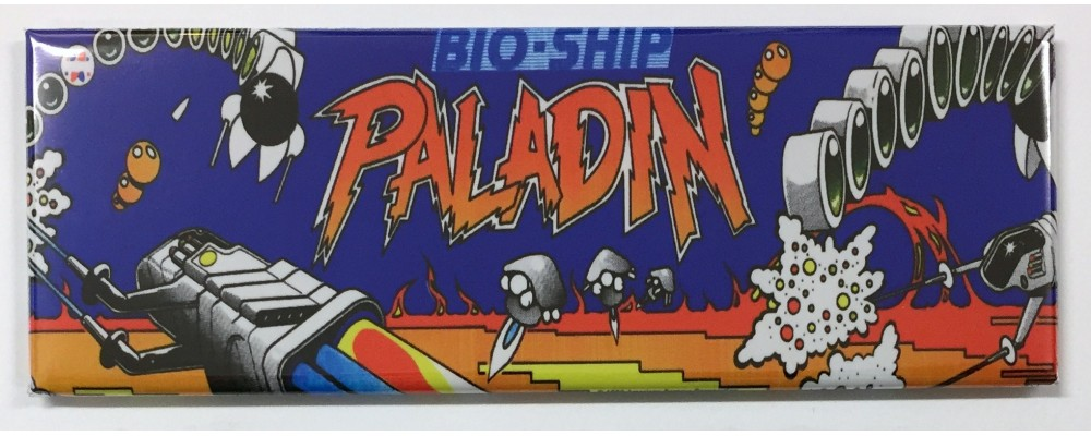 Paladin - Arcade Game Marquee - Magnet - UPL