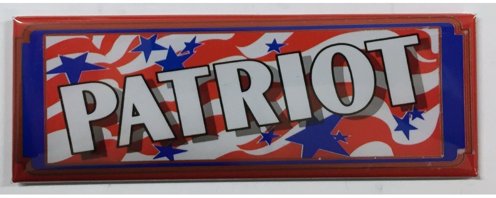 Patriot - Slot Machine - Magnet