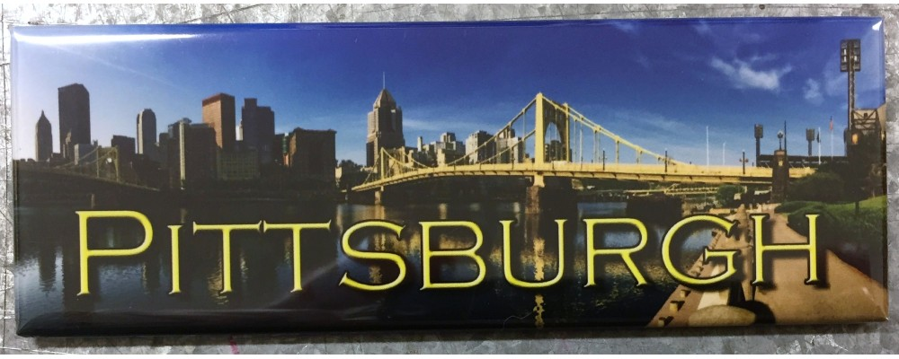 Pittsburgh Skyline - Destinations - Magnet