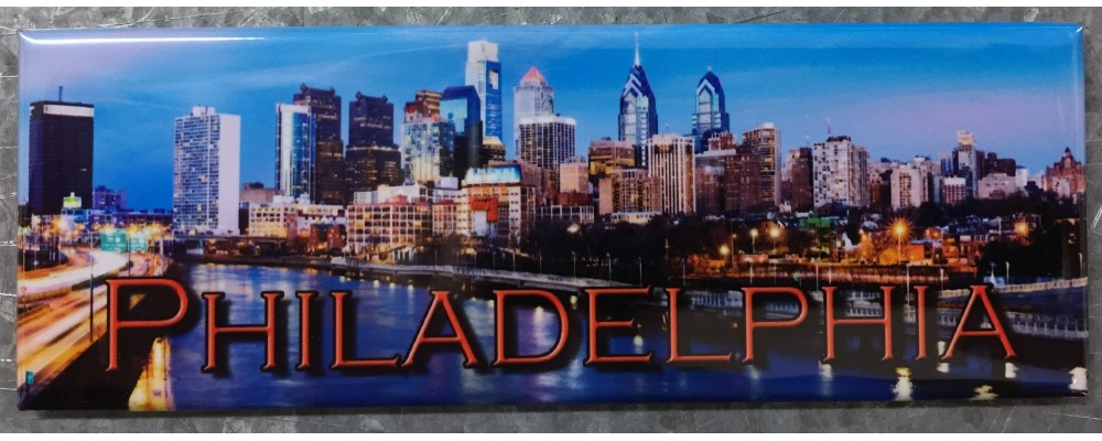 Philadelphia Skyline - Destinations - Magnet