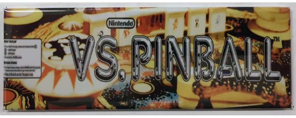 Vs. Pinball - Arcade/Pinball - Magnet - Nintendo