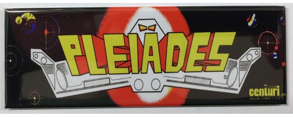 Pleiades - Arcade Marquee - Magnet - Centuri