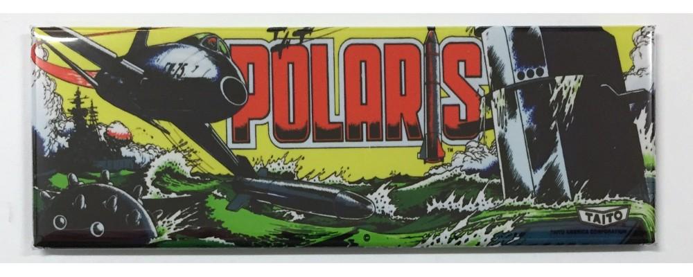 Polaris - Arcade Game Marquee - Magnet - Taito