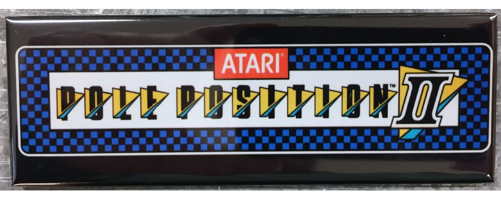Pole Position II - Marquee - Magnet - Atari