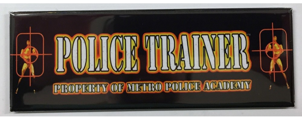 Police Trainer - Arcade Marquee - Magnet - P & P Marketing