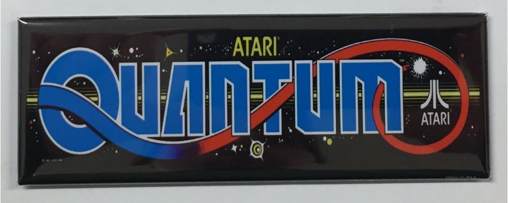 Quantum - Arcade Marquee - Magnet - Atari