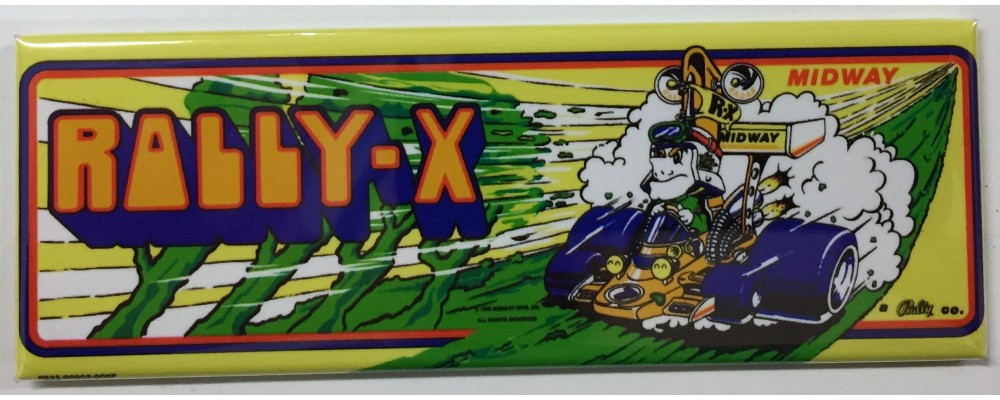 Rally-X - Arcade/Pinball - Magnet - Midway