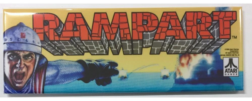 Rampart - Arcade/Pinball - Magnet - Atari