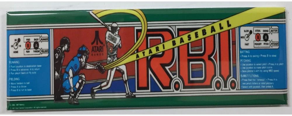 RBI Baseball - Arcade/Pinball - Magnet - Atari