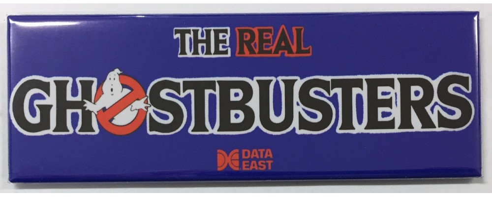 The Real Ghostbusters - Arcade/Pinball - Magnet - Data East