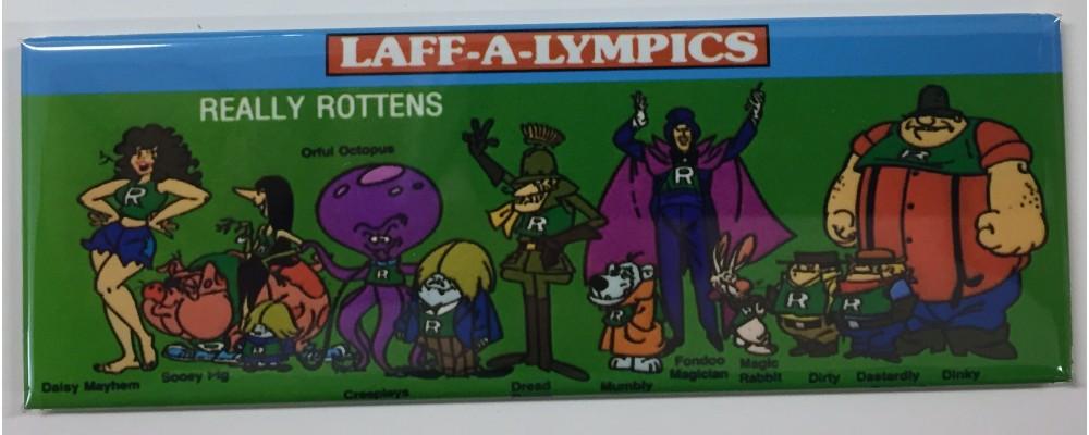 Laff-A-Lympics Really Rottens - Pop Culture - Magnet