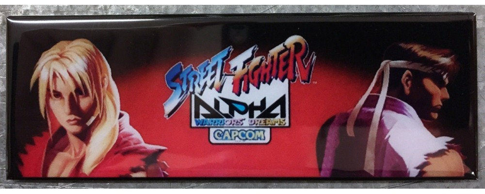 Street Fighter Alpha - Arcade/Pinball - Magnet - Capcom