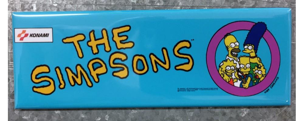 Simpsons - Marquee - Magnet - Konami