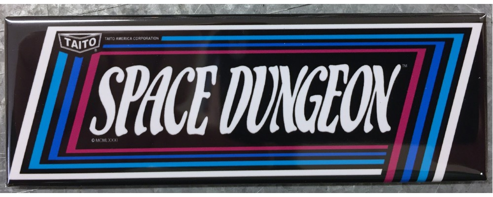 Space Dungeon - Marquee - Magnet - Taito