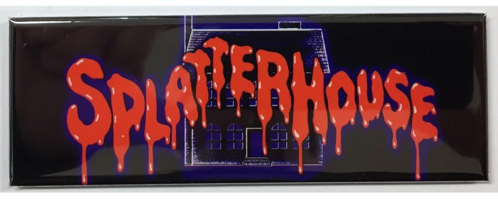 "Splatterhouse Arcade Marquee 26/""x8/"""