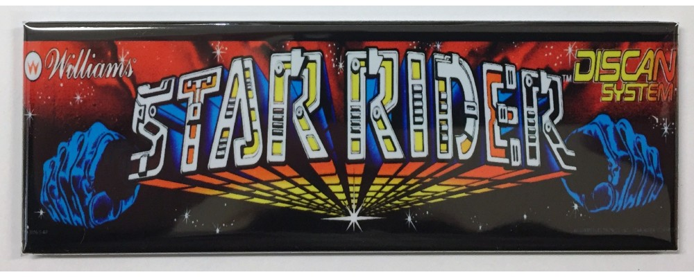 Star Rider - Arcade/Pinball - Magnet - Williams