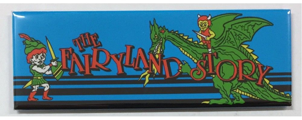 Fairyland Story - Arcade Marquee - Magnet - Taito