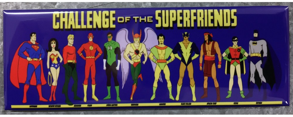 Challenge Of The Superfriends - Pop Culture - Magnet