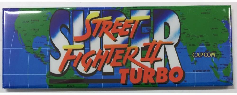 Super Street Fighter II Turbo - Arcade/Pinball - Magnet - Capcom