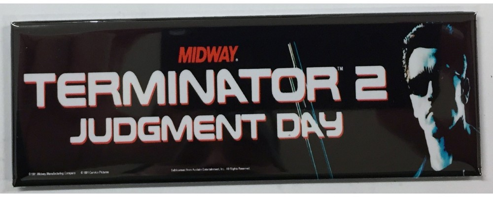 Terminator 2 - Arcade/Pinball - Magnet - Midway