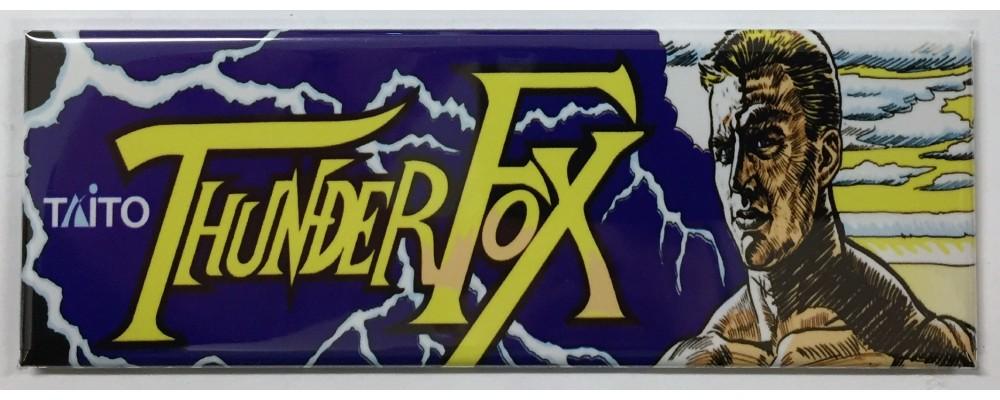 Thunder Fox - Arcade/Pinball - Magnet - Taito