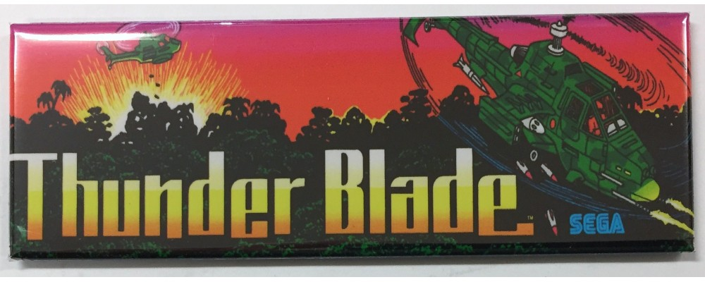 Thunder Blade - Arcade/Pinball - Magnet - Sega