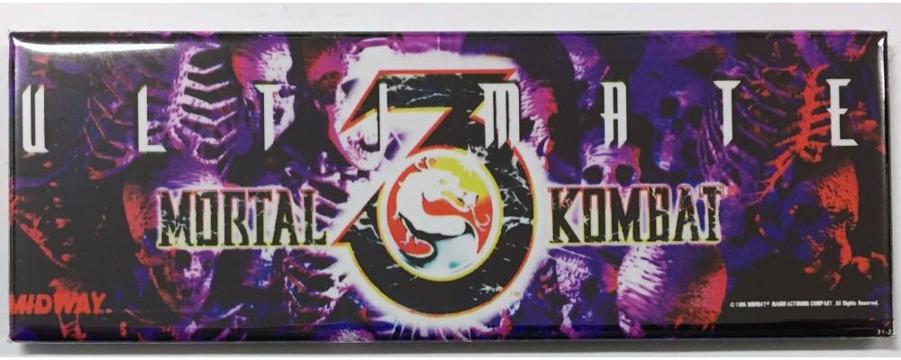 Ultimate Mortal Kombat 3 - Arcade/Pinball - Magnet - Midway